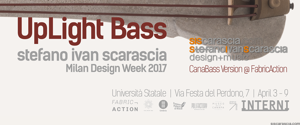 UpLight Bass - Milan Design Week 2017